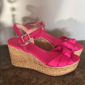 New! Kate Spade Pink sandals sz 8.5 m